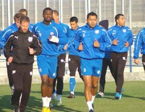 Футболистите на Черноморец заминаха за Стара Загора