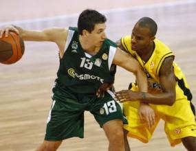 Димитрис Диамантидис - MVP на III кръг на Евролигата (видео)