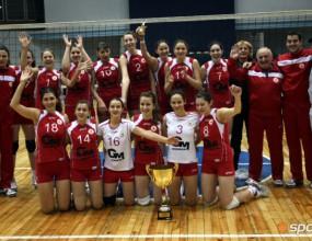 ЦСКА с втора поредна Купа на България при жените