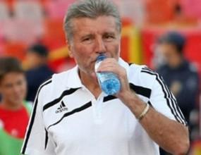 Красимир Горанов и Воин Войнов наблюдават отбори извън Банско