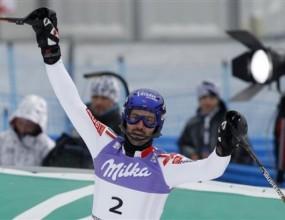 Гранж донесе първа титла за Франция на световно първенство в слалома
