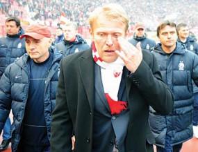 Феновете на Звезда разплакаха Просинечки (видео и снимки)