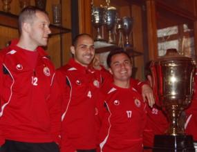 Ето как в ЦСКА подготвят отбора за триумф