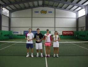 Джулия Терзийска и Стефан Трифонов станаха шампиони на България до 18 г. в зала