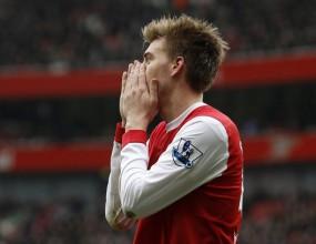 Арсенал пак стъпи накриво в решителния момент (видео)