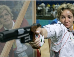 Мария Гроздева извън финала на 10 метра пистолет