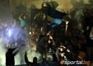 Баскетболният Левски наказан заради скандирания на публиката