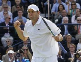 Анди Родик се класира за 1/4-финалите в Лондон