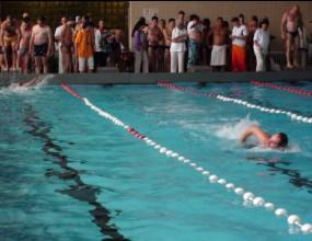"""""""Атом-Спорт"""" спечели безапелационно състезанието по плуване (видео)"""