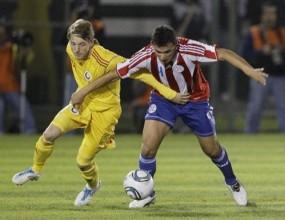 Парагвай удари Румъния в контрола