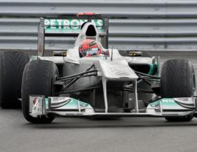 Шумахер: Исках да се върна на подиума
