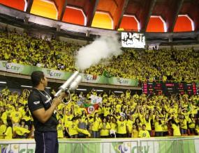 Рекорд по посещаемост в Световната лига на Бразилия - САЩ 1:3 - 17 836 зрители