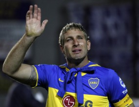 Мартин Палермо се сбогува с Бока Хуниорс