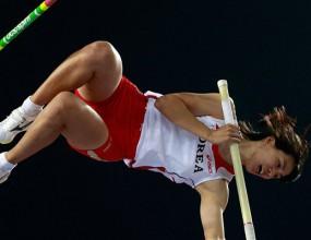 Корейка постави рекорд на стадиона в Даегу