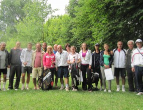 Тенис спектакъл на втория турнир на сингъл от KAI тенис верига