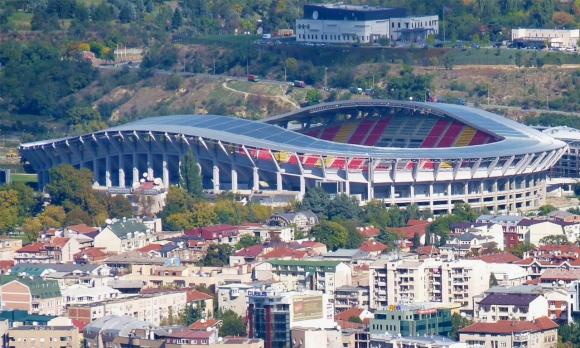 И македонците ни скриха топката - Локо София излиза на стадион за 64 милиона (снимки)