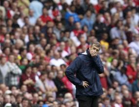 Венгер: Трябва да повдигнем духа на играчите