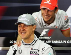 Бътън за кариерата на Шумахер: Уникална