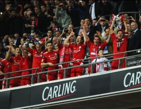 """Ливърпул се върна към трофеите след драматичен триумф с дузпи на """"Уембли"""" (видео + галерия)"""
