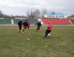 Бдин с първа тренировка във Видин след три седмици в Сандански