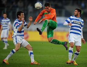 Гройтер Фюрт спечели българското дерби с Дуисбург, но само Домо игра