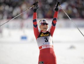 Норвежка красавица спечели двойното преследване в Лахти