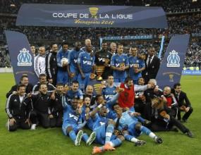 Марсилия триумфира с Купата на лигата, Дешан постави рекорд (видео)