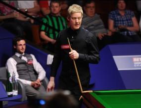 Нийл Робъртсън е първият 1/4-финалист на световното първенство
