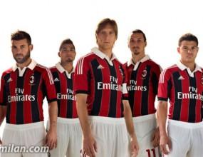 Милан офиациално показа фланелката за новия сезон
