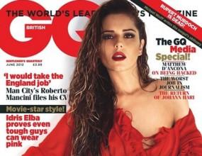 Уникалната Черил Коул украси корицата на мъжко списание