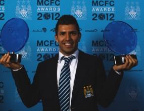 Агуеро е играч на годината на Манчестър Сити
