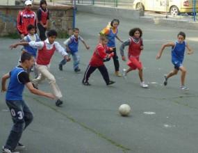 Магията на футбола завладя бургаския интернат