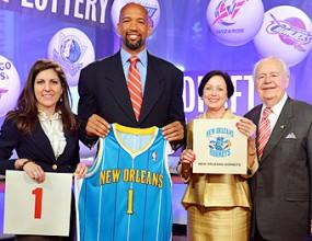 Ню Орлийнс Хорнетс ще избира първи в драфта на НБА