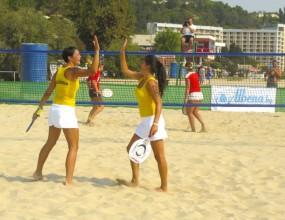 Премиерът откри световното по плажен тенис