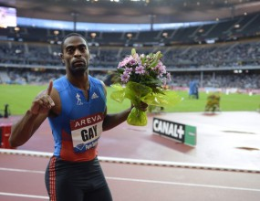 Гей победи Гатлин на 100 метра