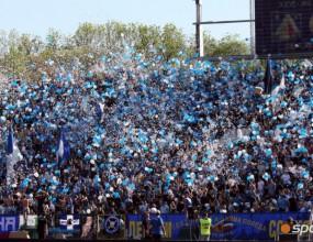 Над 10 000 подкрепят Левски на старта