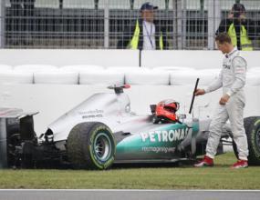 Шумахер: Катастрофата беше по моя вина