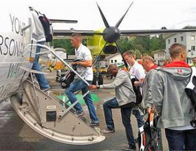 Олимпийският отбор на Швейцария на косъм от самолетна катастрофа