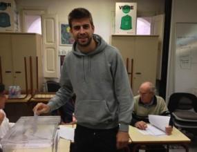 Пике: Гласувах, защото за мен Каталуня е важна