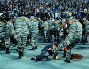 Московската полиция е задържала над 160 запалянковци
