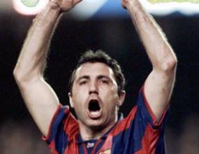 Барселона си припомни легендарните голове на Христо Стоичков (видео)