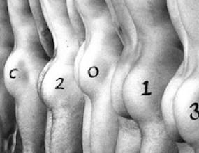 Млади ръгбисти позират голи за календар (снимки)