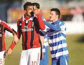 Про Патрия изгърмя един мач заради расизма срещу Милан