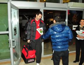 Ето как посрещнаха ЦСКА в Турция (снимки)