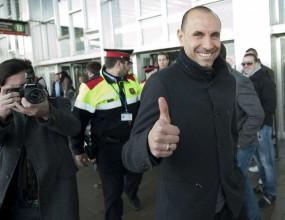 Мартин Петров пристигна в Барселона