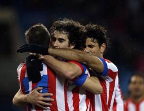 Атлетико вече е седем точки пред Реал Мадрид (видео)
