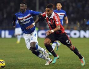 Сампдория не се даде и на Милан (видео)