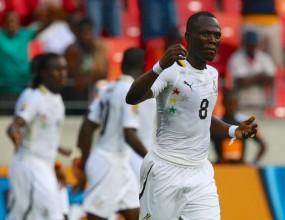 Гана грабна първа победа