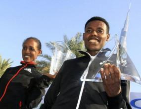 Етиопец спечели маратона в Дубай с резултат, близък до световния рекорд