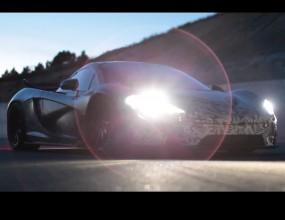 McLaren P1 с първо видео